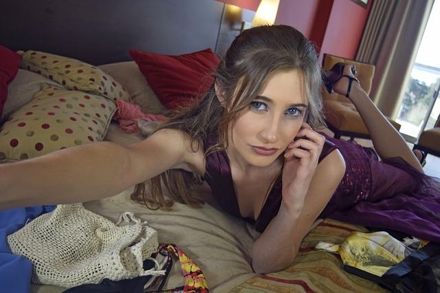 Selfie camgirl